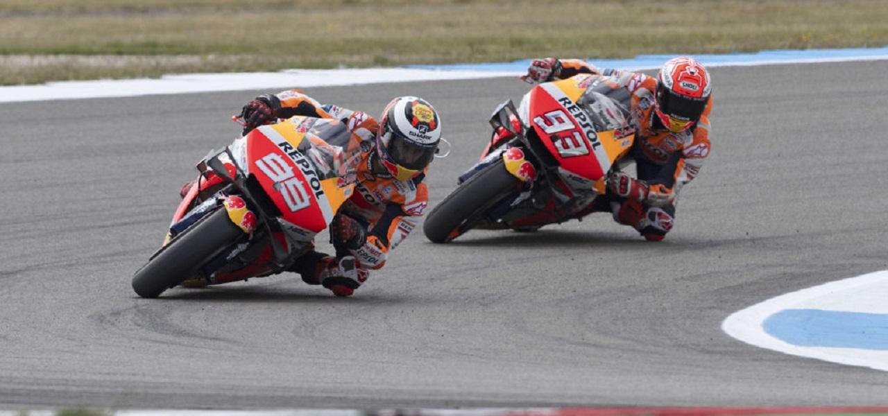 Márquez es séptimo y Lorenzo se perderá el resto del Gran Premio