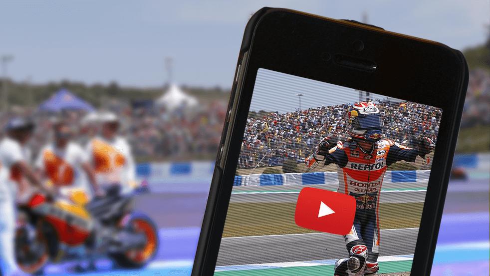 Moteros youtubers: moto, cámara y acción