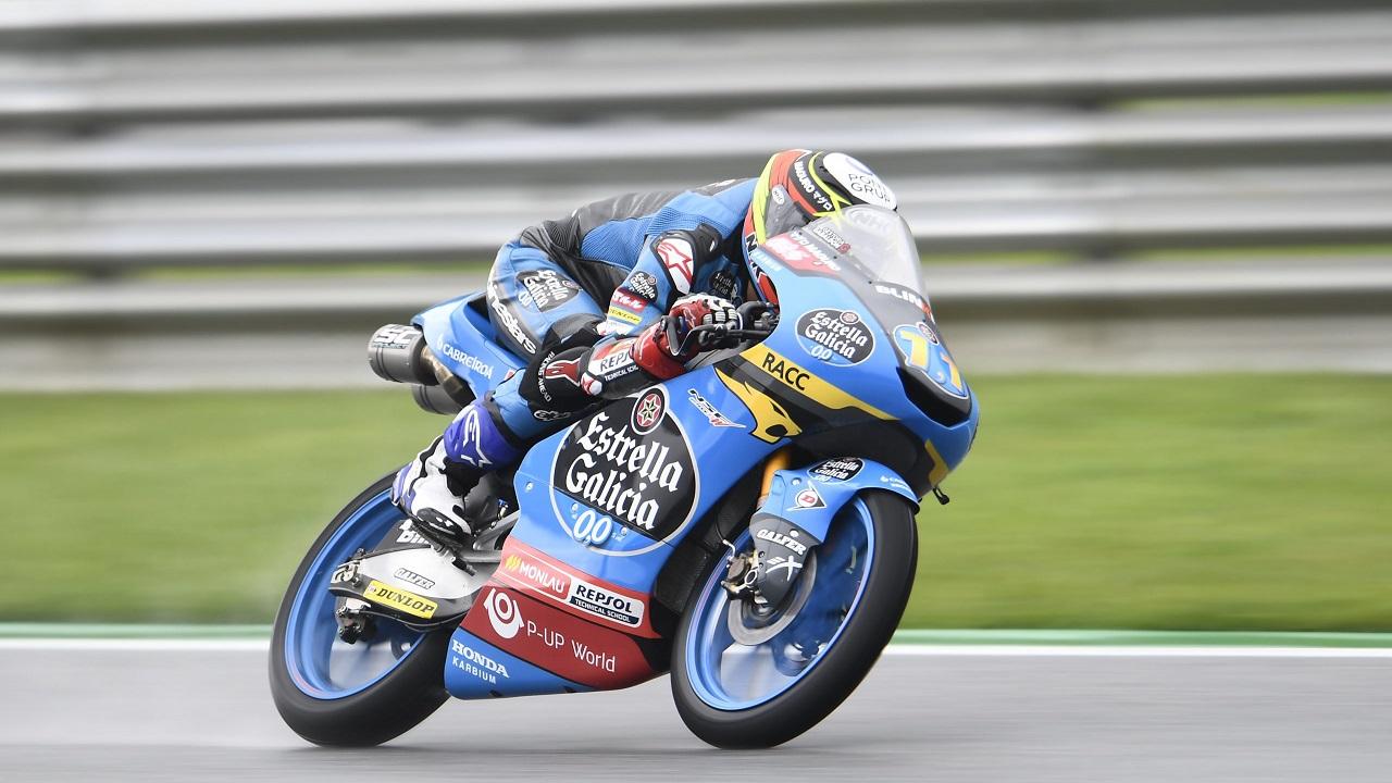 García Dols battles in large front group at Austrian GP