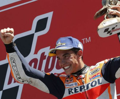 Fourth win of the year for Marc Márquez