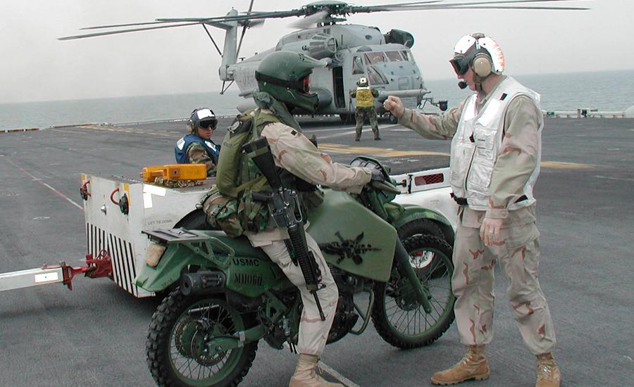 M1030M1 Moto militar diésel/ Wikipedia