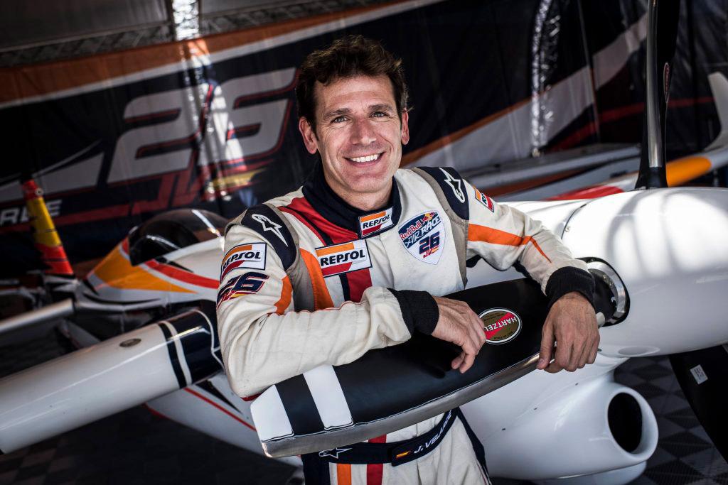 Juan Velarde del Equipo Repsol Honda