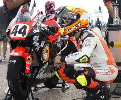 Motorcycle world mourns loss of Hugo Millán at MotorLand Aragón>