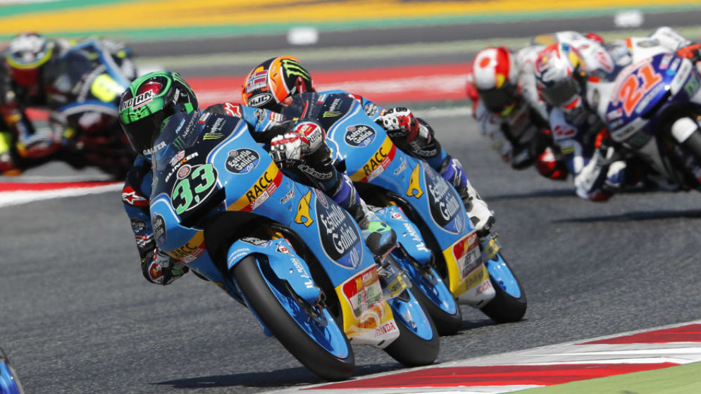 Bastianini and Canet place fourth and fifth in Montmeló