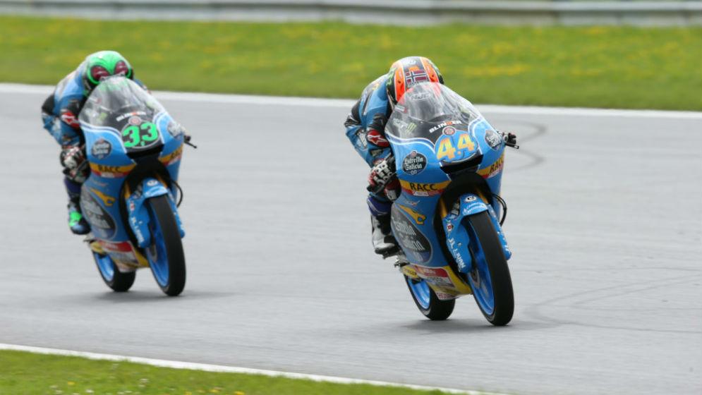 Canet y Bastianini, quinto y décimo en el Gran Premio de Austria