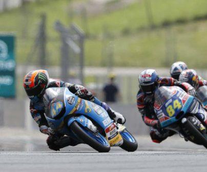 Pilotos de Moto3 en Austria 2018