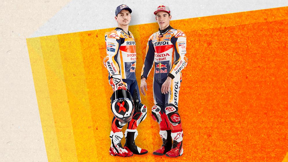Marc Márquez y Jorge Lorenzo Repsol Honda Team 2018