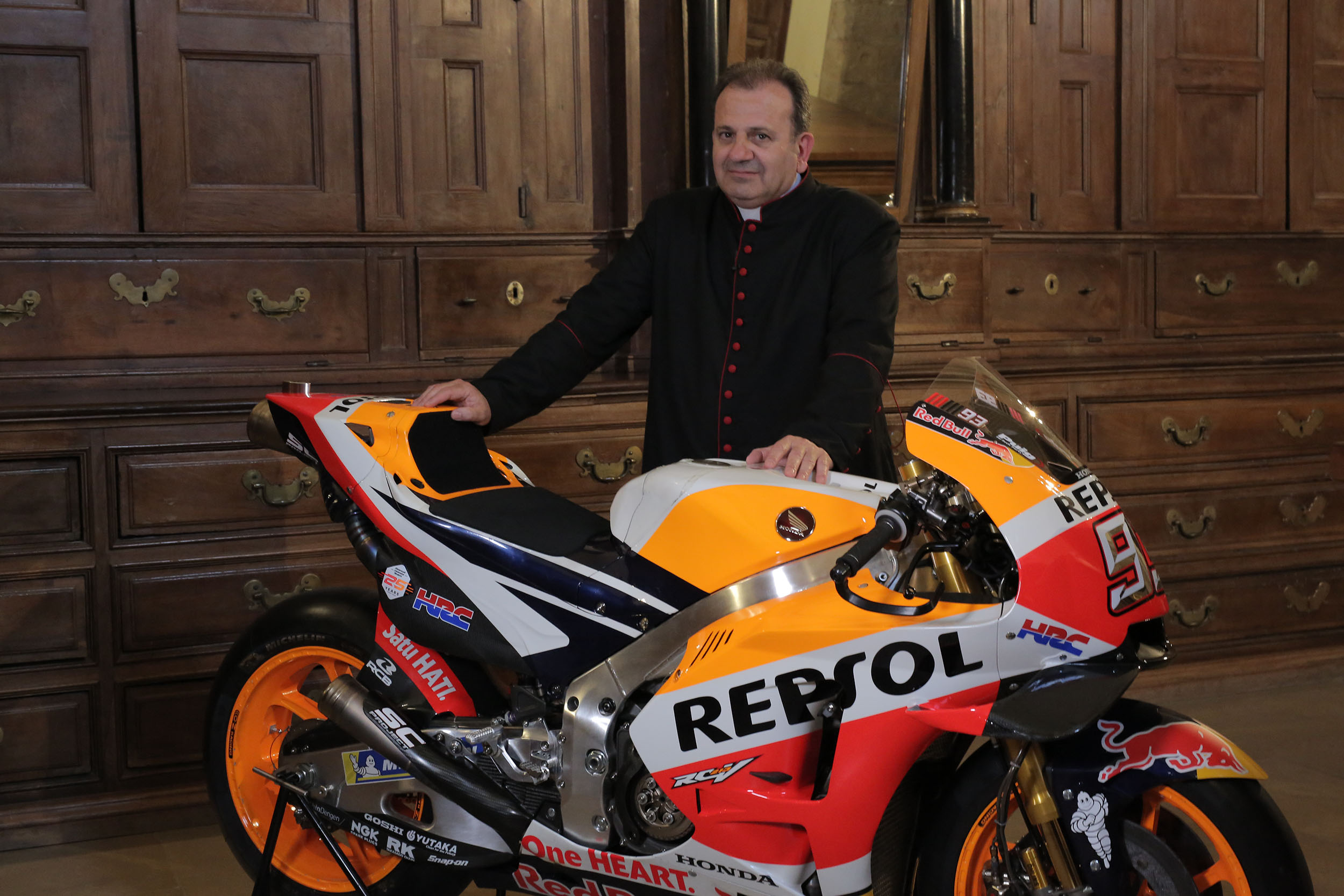 A divine passion for the Motorcycle World Championship