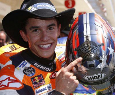 Quinta victoria de Márquez y podio de Pedrosa en Austin