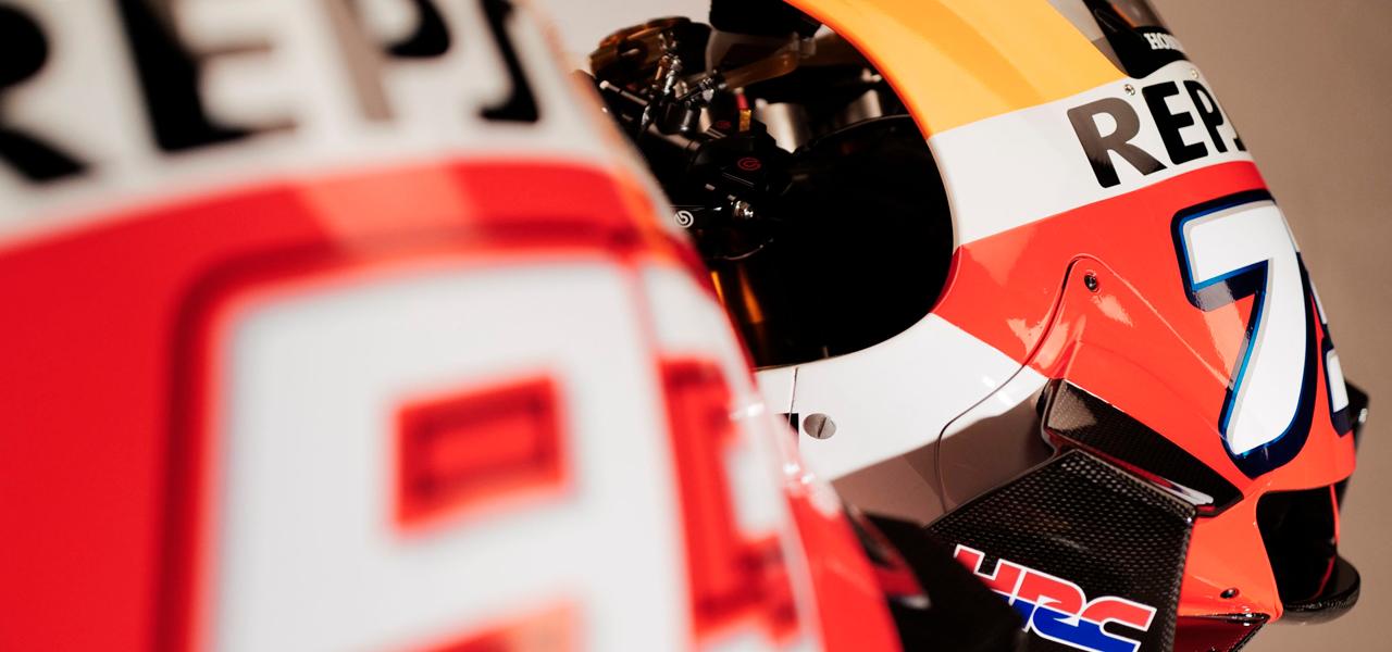 Los materiales con los que se hace una moto de MotoGP