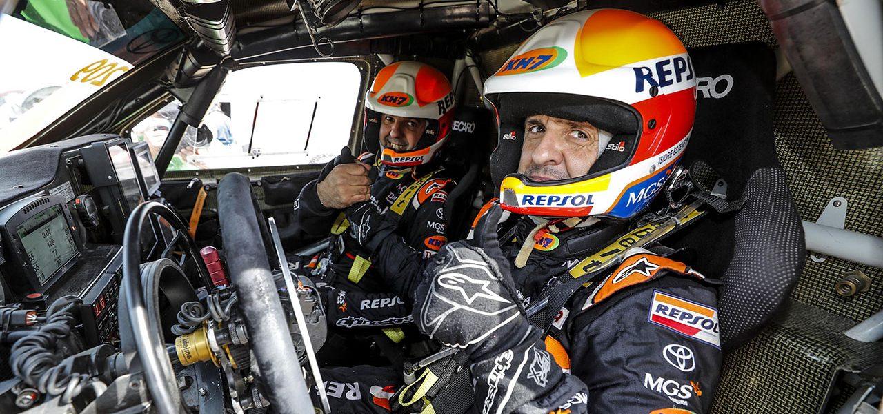 Isidre Esteve vuelve a hacer historia, al finalizar octavo el Andalucía Rally