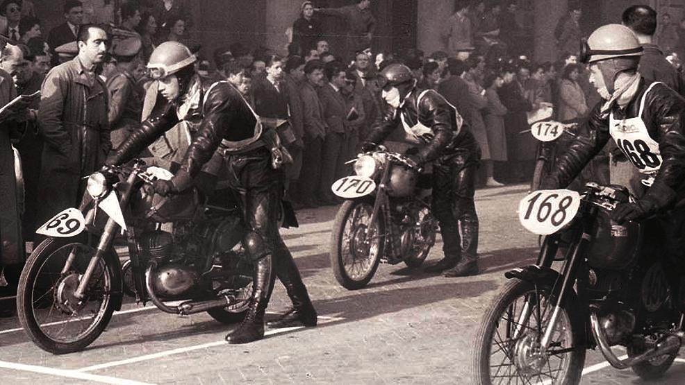 Motogiro de Italia, para amantes de las motos clásicas