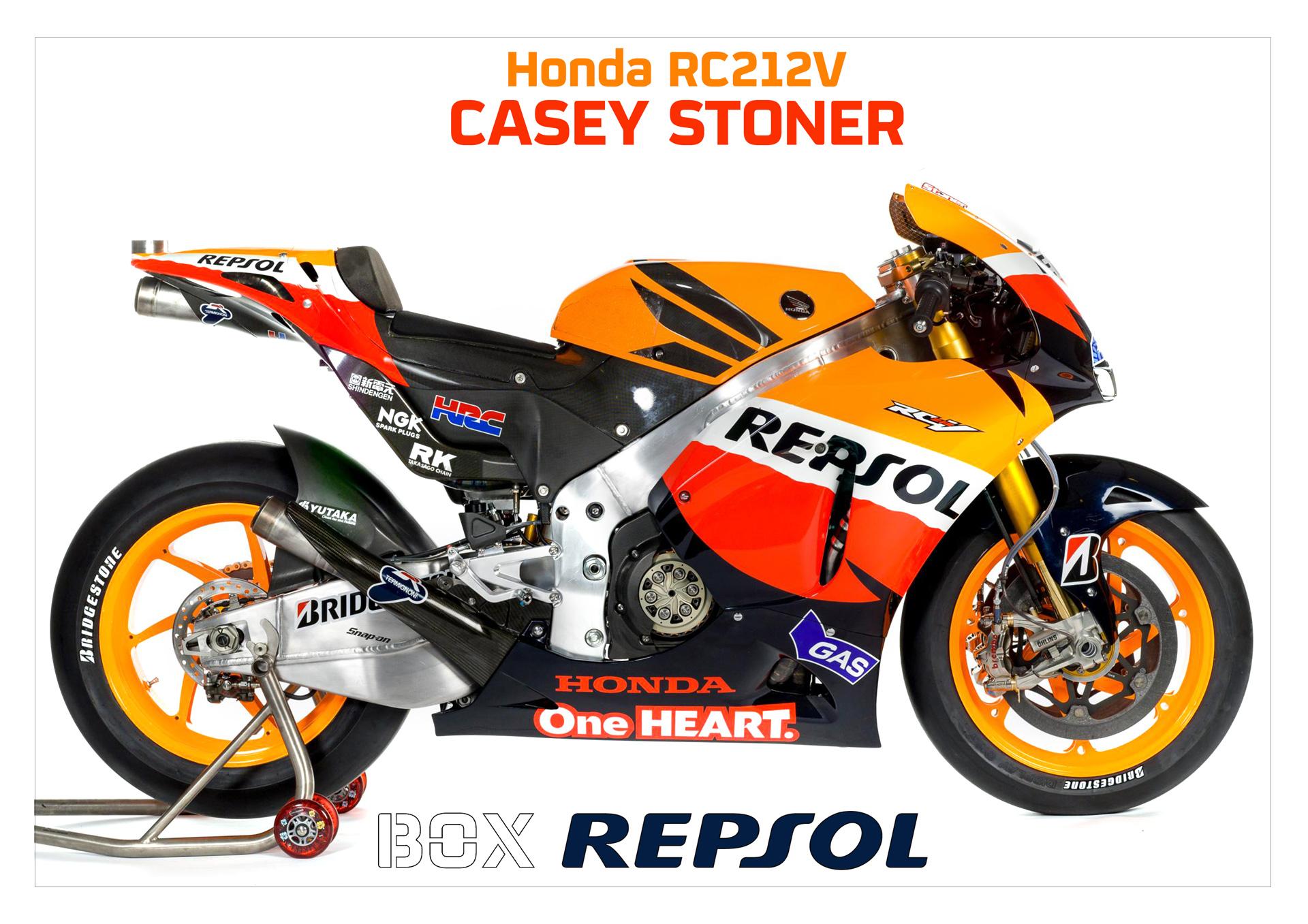 Honda RC212V. Casey Stoner