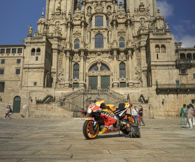Márquez's bike ends Spanish trip in Santiago>