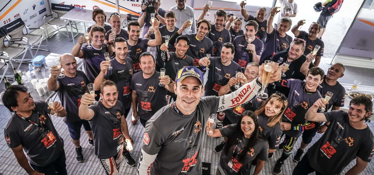 Victory for Toni Bou in France to secure the title