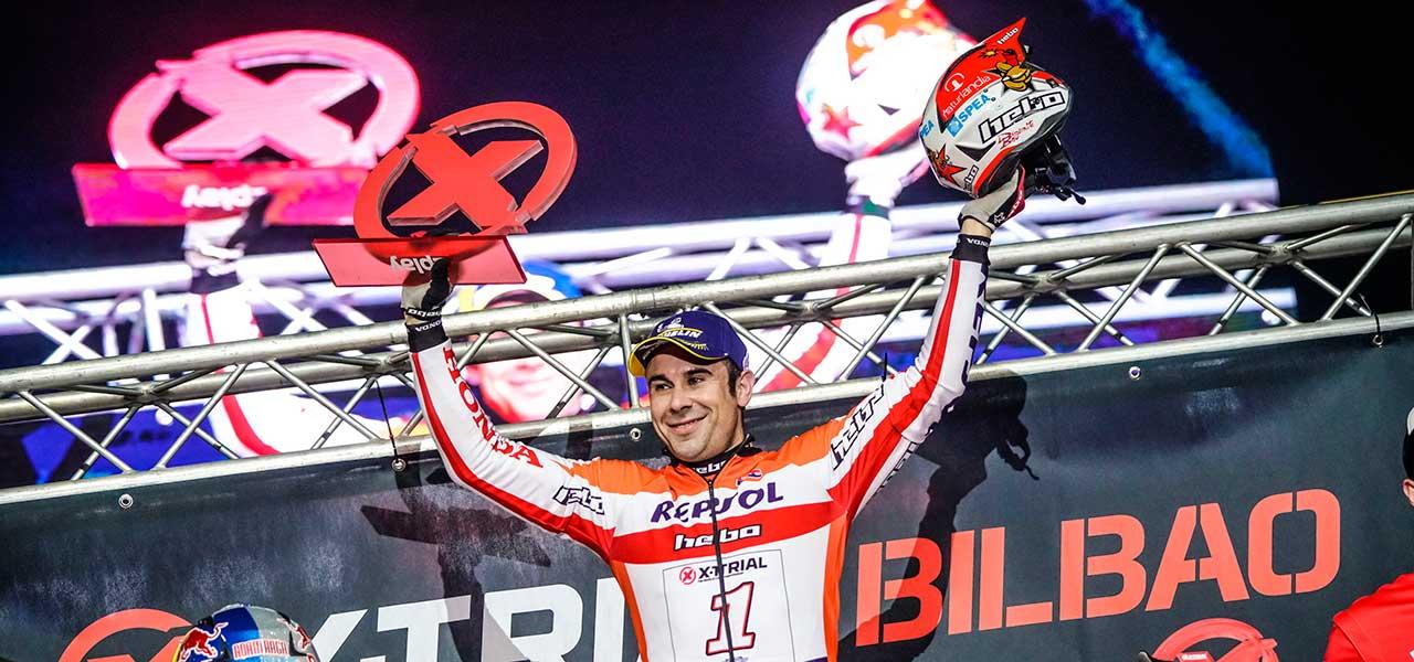 Toni Bou recupera el liderato con una gran victoria en Bilbao
