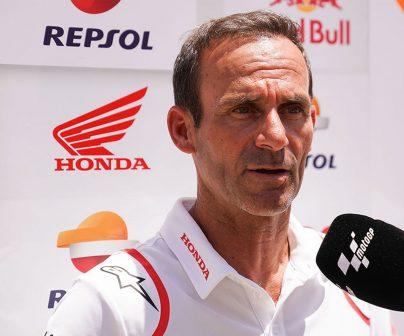 Alberto Puig en una entrevista