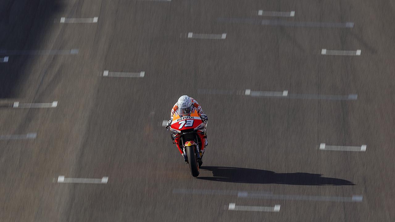 Álex Márquez en el GP de España 2020