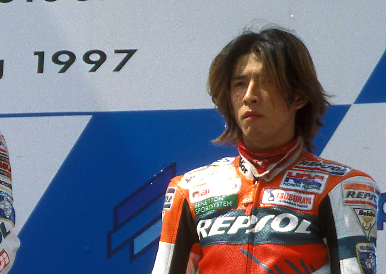 Takuma Aoki en el Podio