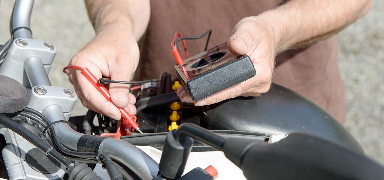 Averías eléctricas en moto más comunes