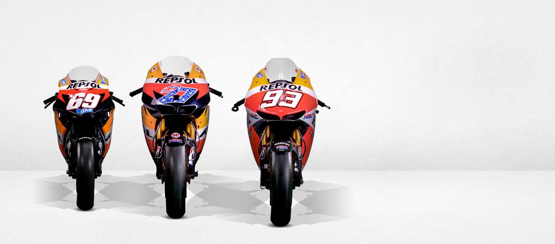 Motos de MotoGP, Campeones del Mundo