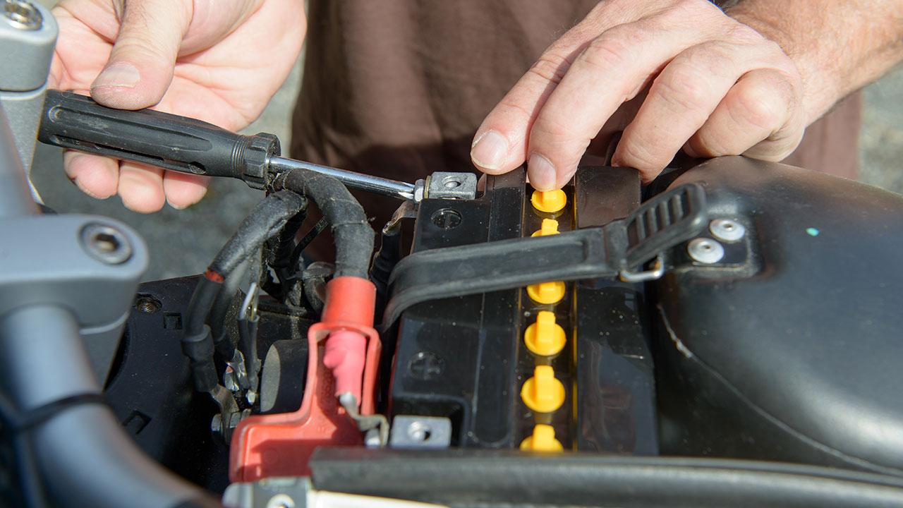 instalación de una batería