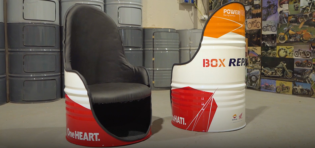 ¡Llévate a casa un asiento edición especial Box Repsol!