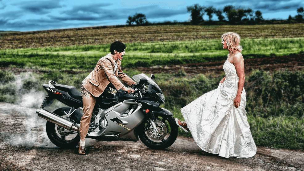 ¿Te vas a casar? Hazlo al modo motero