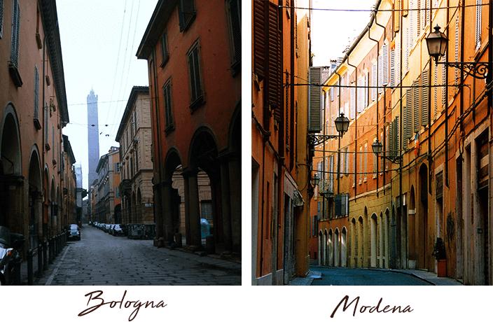 Bologna e Módena