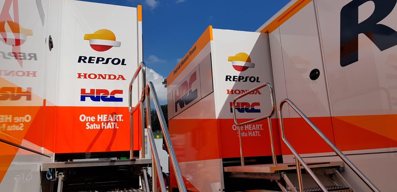 Motorhomes Repsol Honda