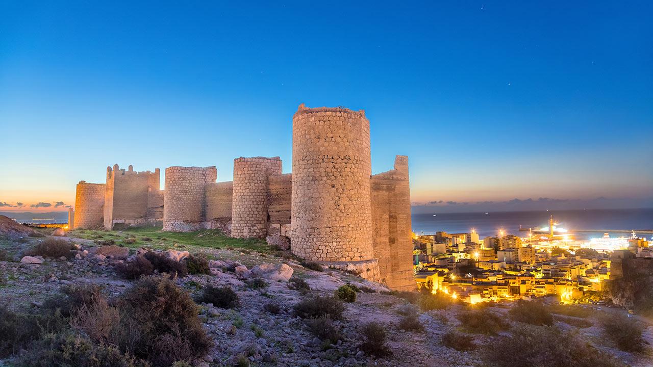 Castillo de Almería