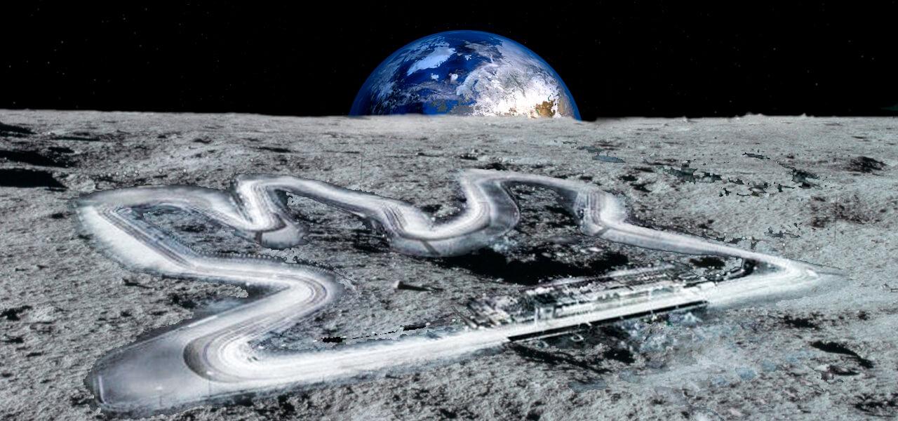 ¿Es posible ir en moto en la luna?