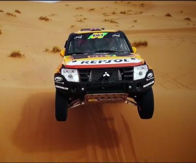 Coche del Rally Dakar de Isidre Esteve