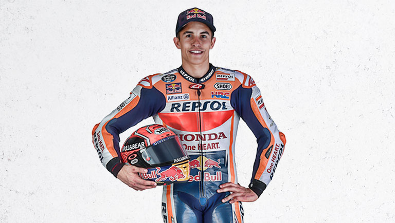 Marc Márquez a World Champion of Motorbike riding