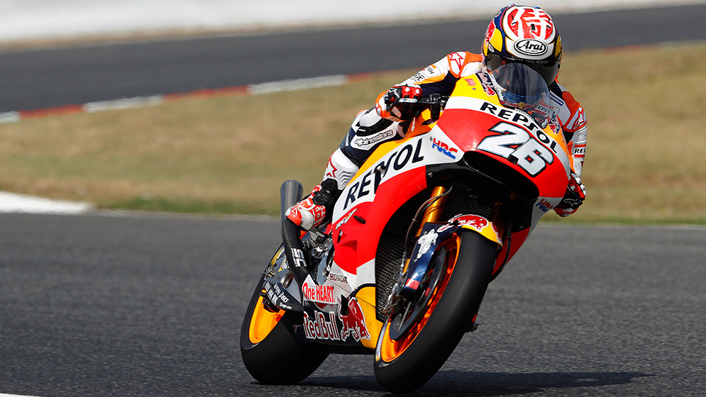 El equipo Repsol Honda completa un positivo test en Catalunya
