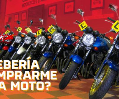 ¿Debería comprarme una moto?