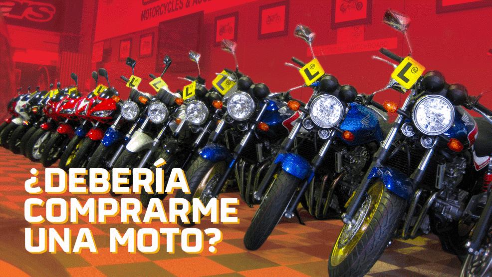 Qué moto escoger según tu altura?