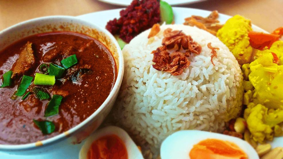 La gastronomía de Malasia que nuestros pilotos no podrán probar