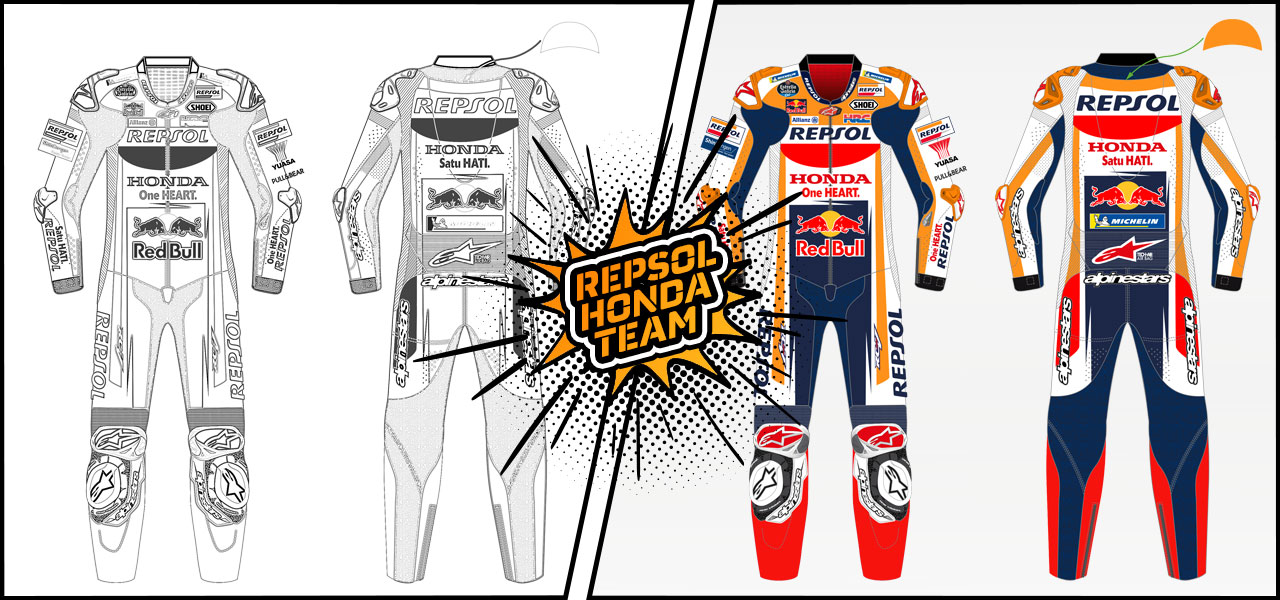 Download Repsol Honda pictures and colour them in!