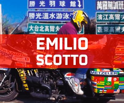 Emilio Scotto y la salida en moto más larga de la historia