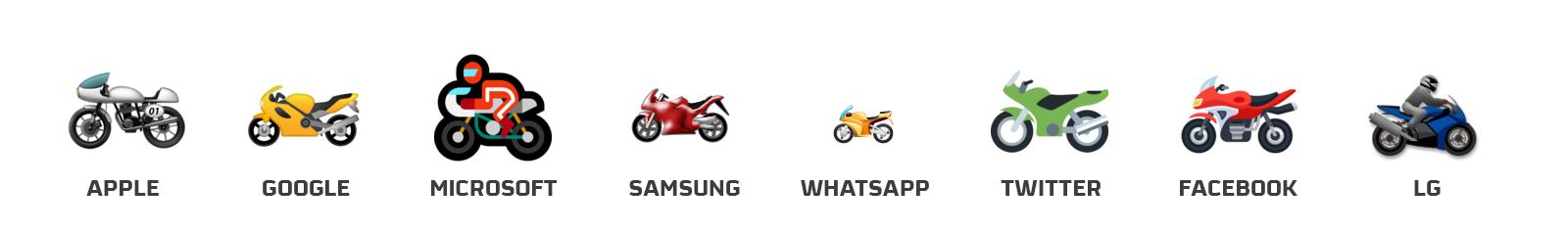 emojis moto R