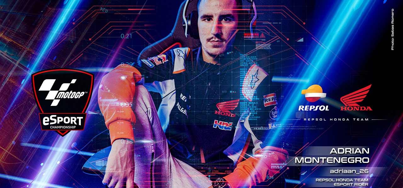 Repsol Honda Team sign Adriaan_26 for MotoGP eSport Championship challenge