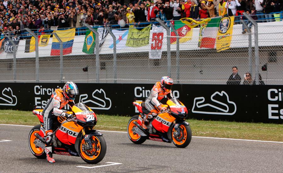 Stoner-Pedrosa-circuito-Estoril-2012