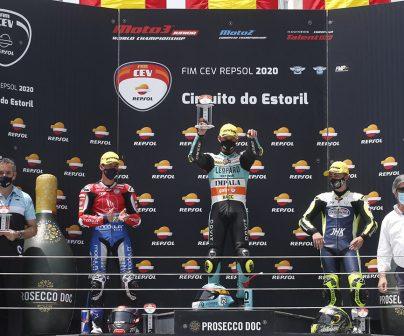 podio ganadores fim cev repsol 2020