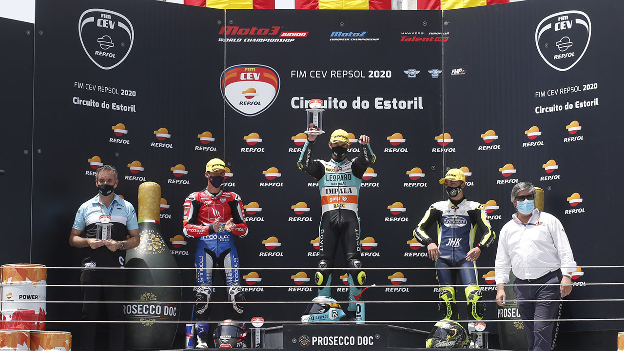Artigas, Montella and Alonso all winners at first FIM CEV Repsol round of the season