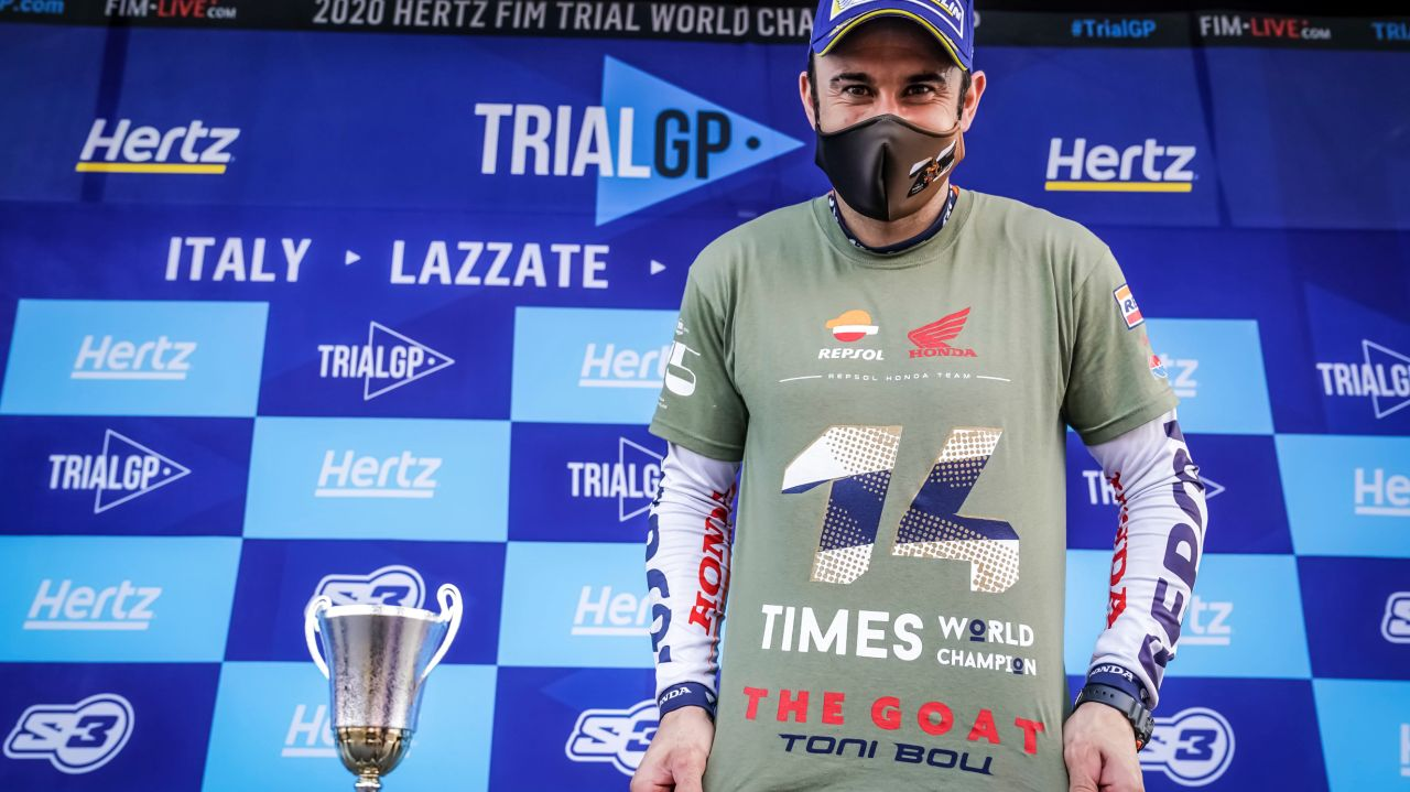 Toni Bou wins 28th Trial World Championship in Italy