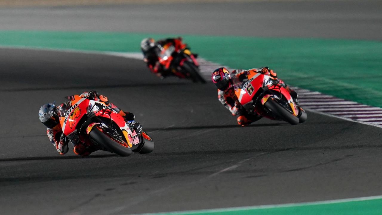 Pol Espargaró sigue sumando puntos en el GP de Doha