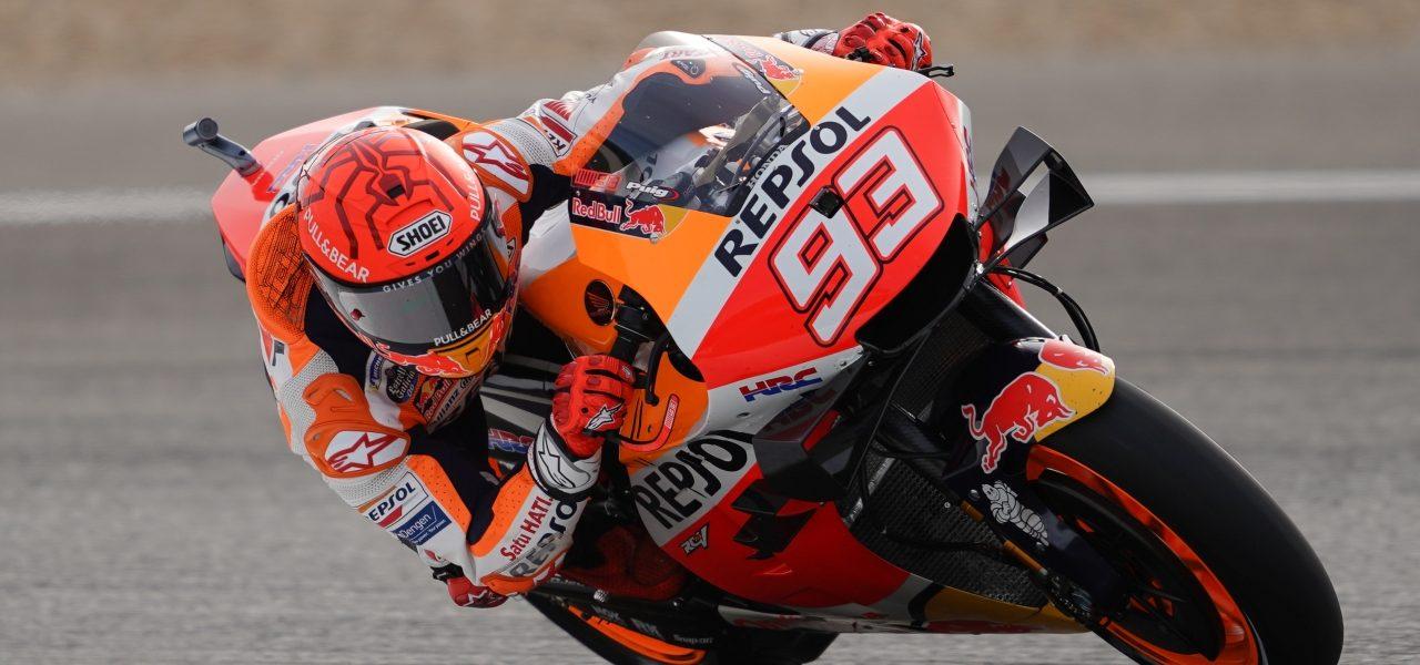 Primera toma de contacto del equipo Repsol Honda con el circuito de Jerez