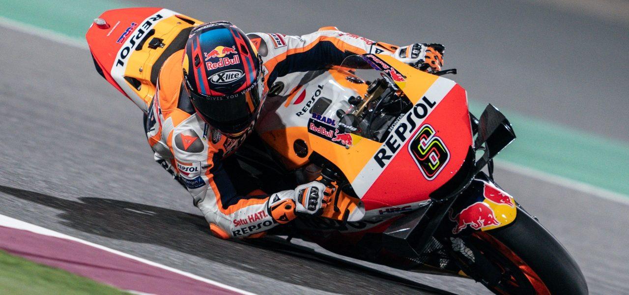 Primer día de trabajo para el equipo Repsol Honda en el GP de Doha