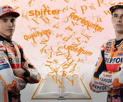 Marc y Álex Márquez, glosario MotoGP